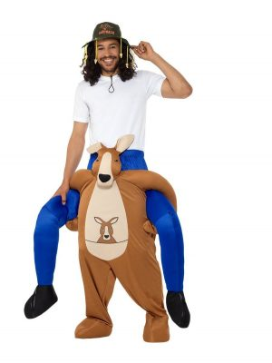 Piggyback Kangaroo Novelty Fancy Dress Costume