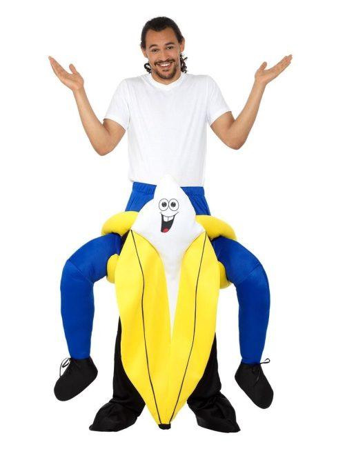 Piggyback Banana Novelty Adult Fancy Dress Costume