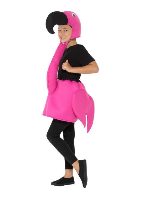 Flamingo Children's Fancy Dress Costume-0
