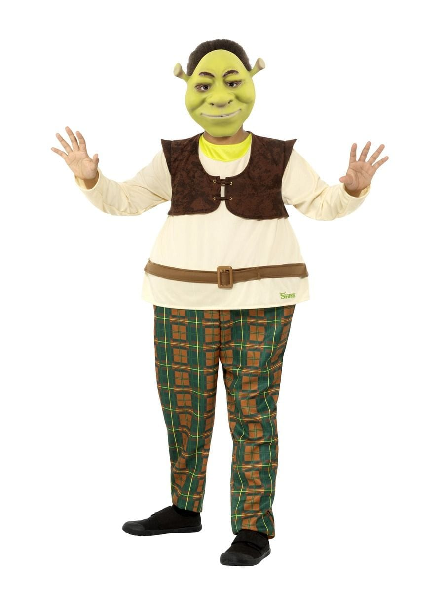 Dreamworks Shrek Deluxe Children's Fancy Dress Costume