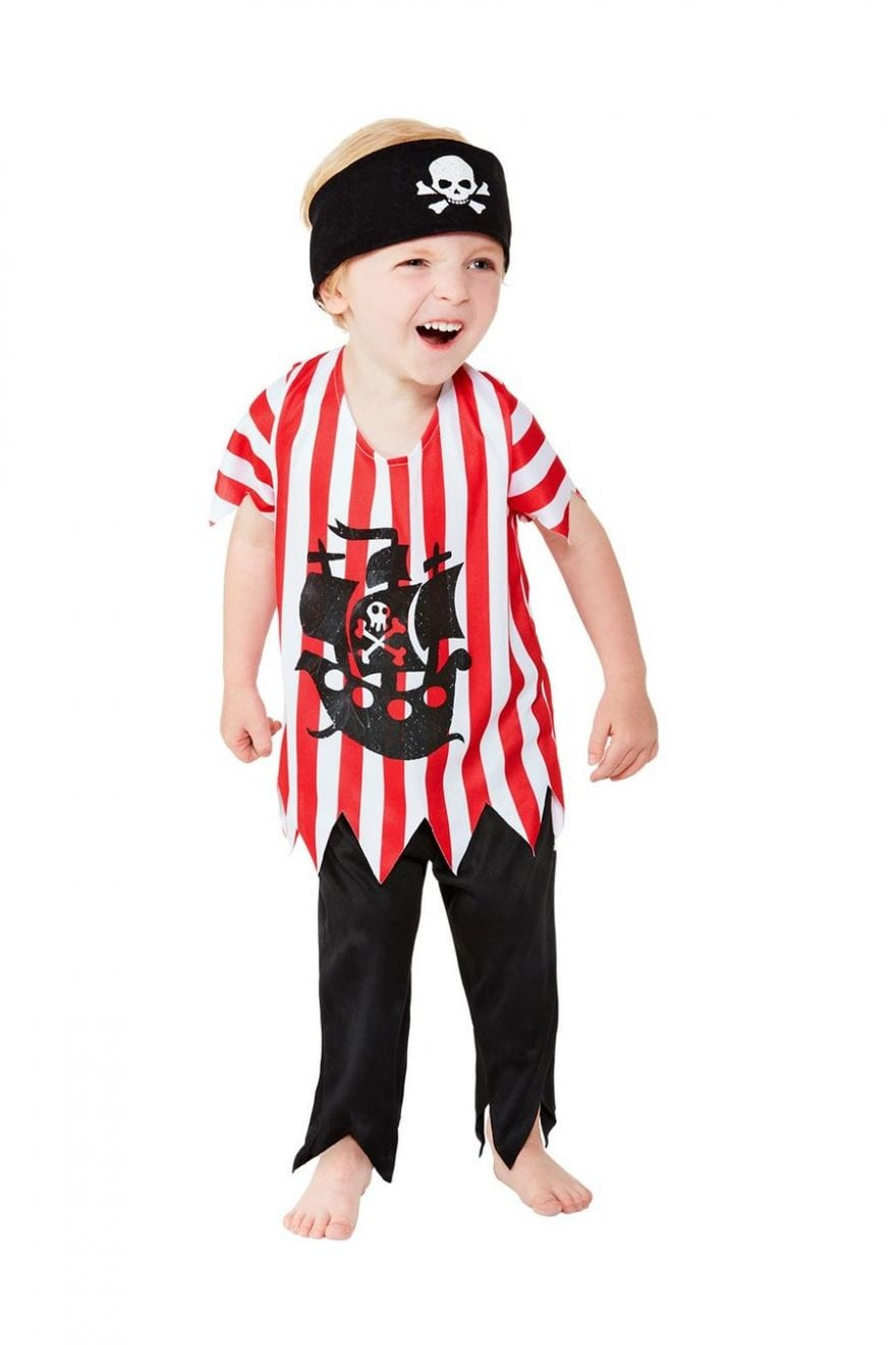 Jolly Pirate Toddler Children's Fancy Dress Costume