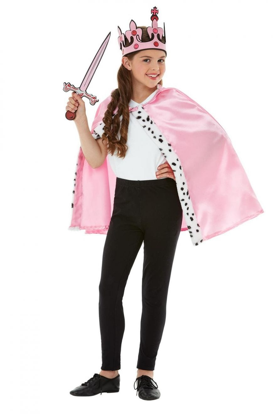 Queen Kit Children's Fancy Dress Costume
