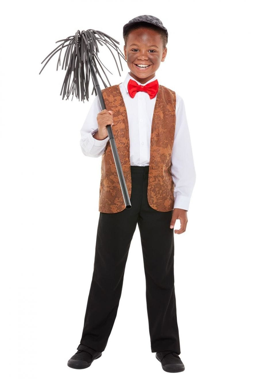 Chimney Sweep Kit Children's Fancy Dress Costume
