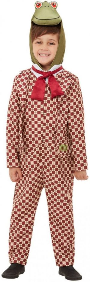 Wind in the Willows Deluxe Toad Children's Fancy Dress Costume