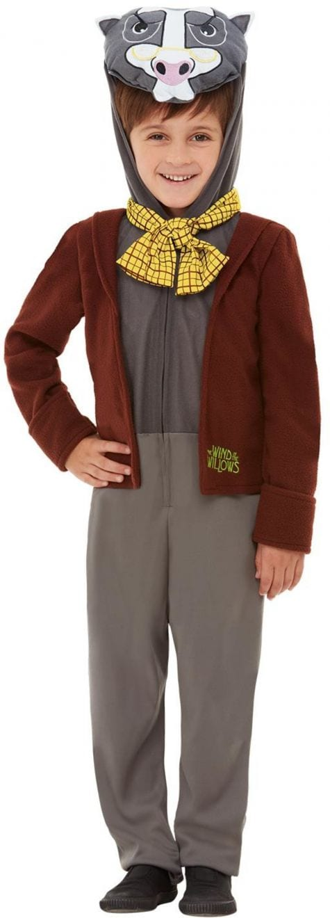 Wind in the Willows Deluxe Badger Children's Fancy Dress Costume