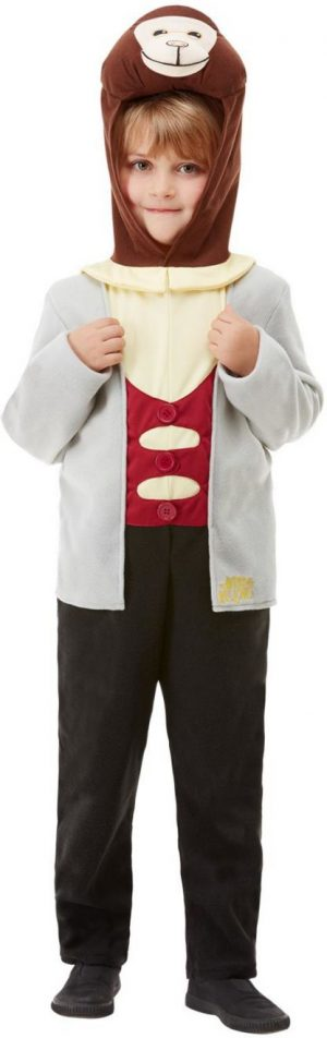 Wind in the Willows Deluxe Mole Children's Fancy Dress Costume