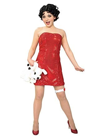 Betty Boop Ladies Fancy Dress Costume