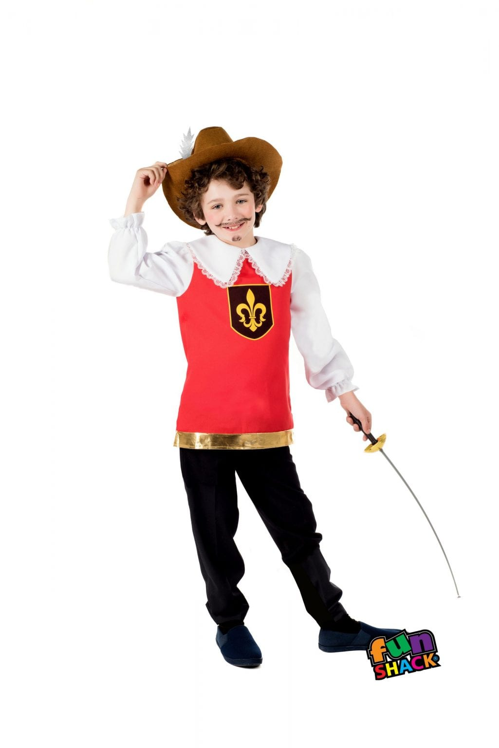 Musketeer Children's Fancy Dress Costume