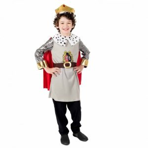 King Children's Fancy Dress Costume