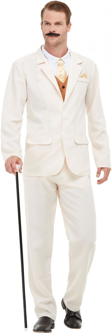 Roaring 20s Gent Men's Fancy Dress Costume