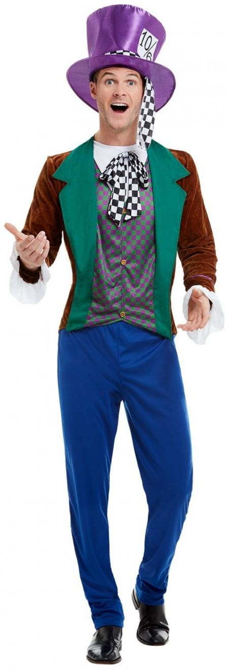 Mad Hatter Men's Fancy Dress Costume