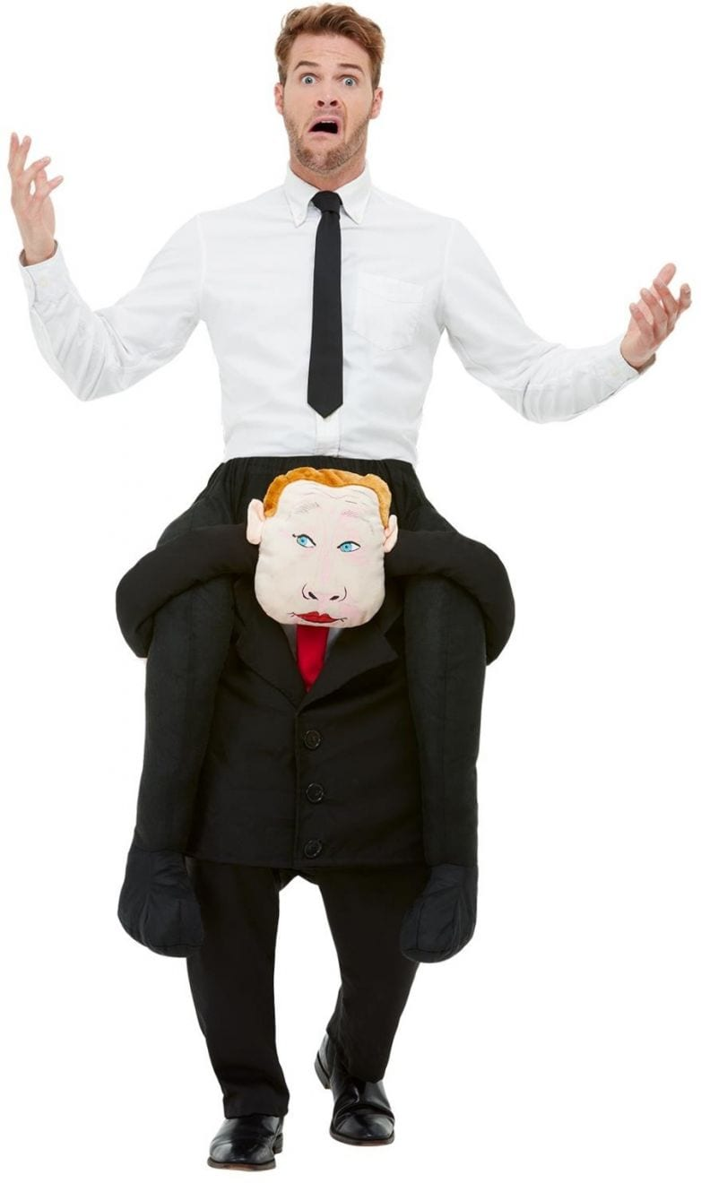 Piggyback Comrade Novelty Fancy Dress Costume