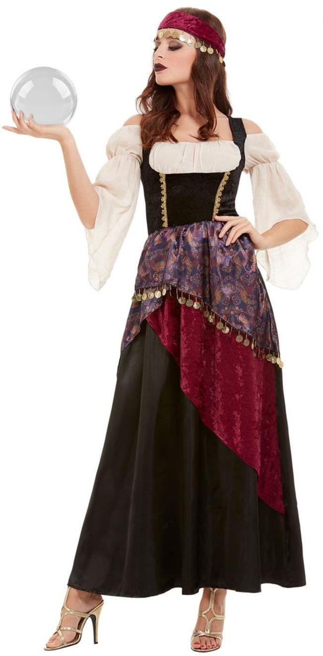 Fortune Teller Ladies Fancy Dress Costume