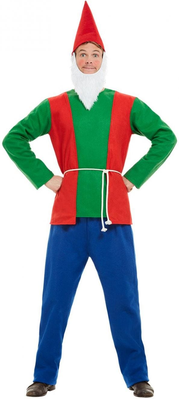 Gnome Men's Fancy Dress Costume
