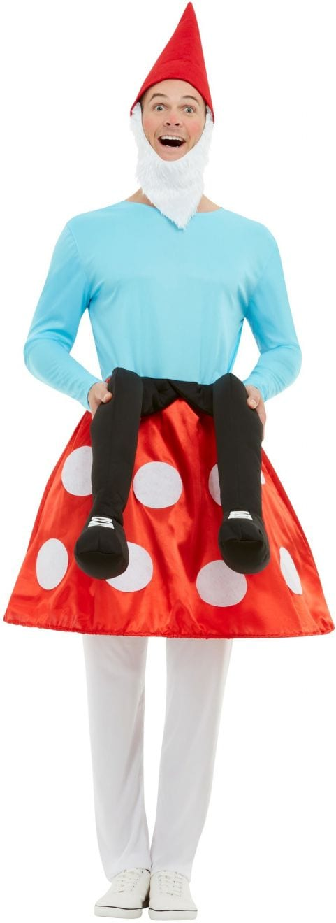 Gnome Toadstool Novelty Fancy Dress Costume