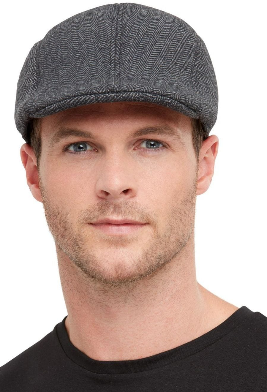 20s Gangster Flat Cap, Grey
