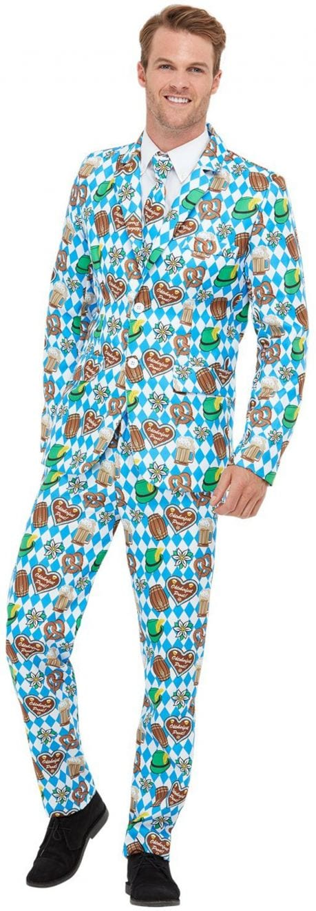 Oktoberfest Standout Suit Men's Fancy Dress Costume