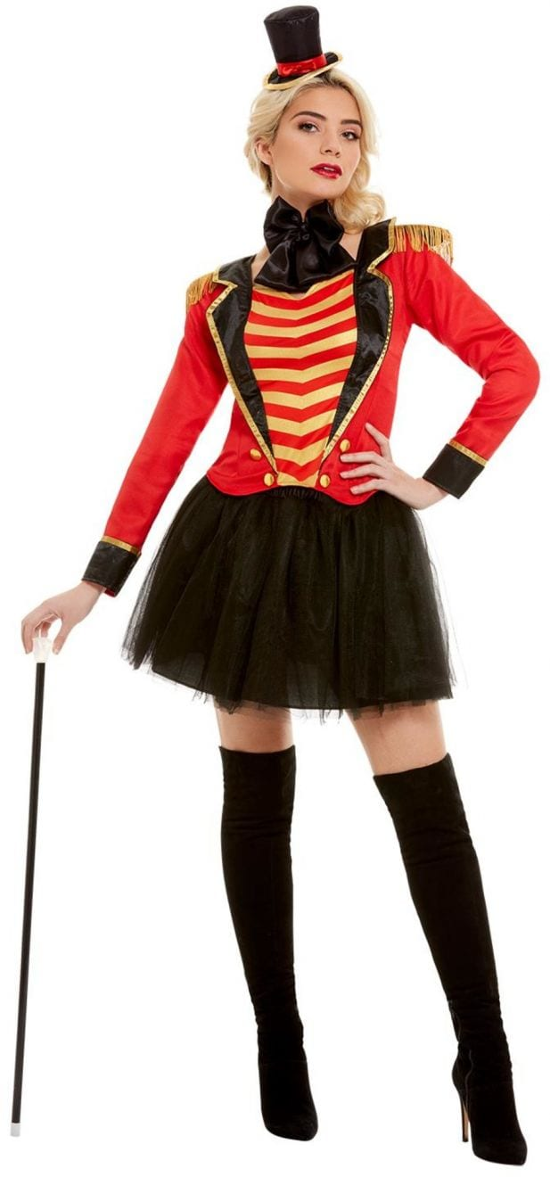 Ringmaster Lady Ladies Fancy Dress Costume