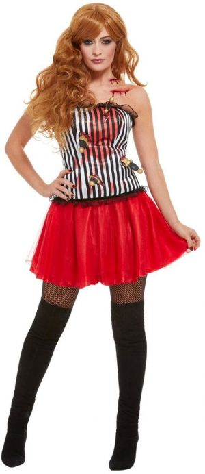 Knife Throwers Assistant Ladies Fancy Dress Costume