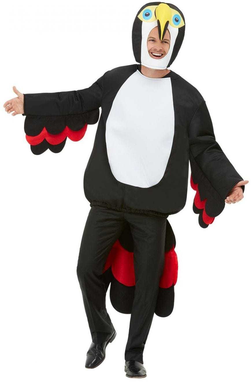 Bird Of Paradise Toucan Men's Fancy Dress Costume