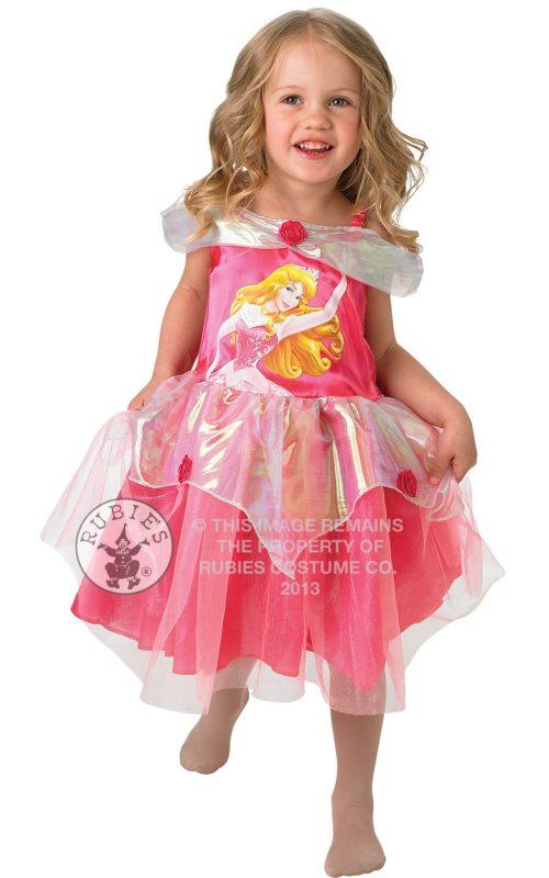Disney's Ballerina Aurora Children's Fancy Dress Costume