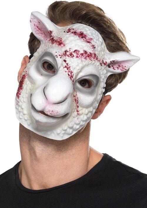 Evil Sheep Killer Mask, White