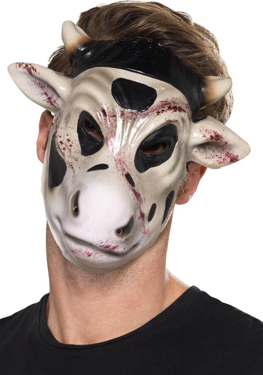 Evil Cow Killer Mask, White