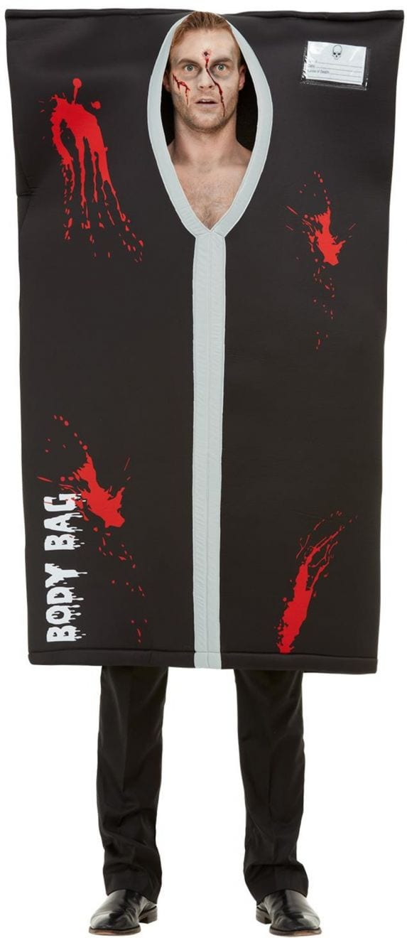 Bodybag Men's Halloween Fancy Dress Costume