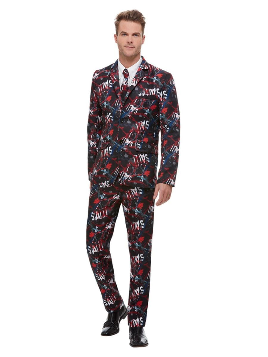 'SAW' StandOut Suit Men's Halloween Fancy Dress Costume-0