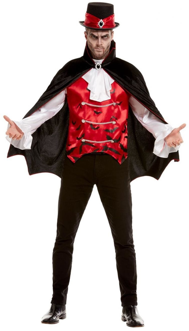 Vampire Men's Halloween Fancy Dress Costume