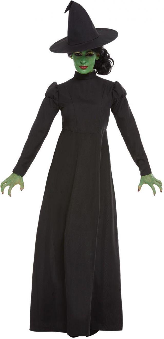 Wicked Witch Ladies Halloween Fancy Dress Costume