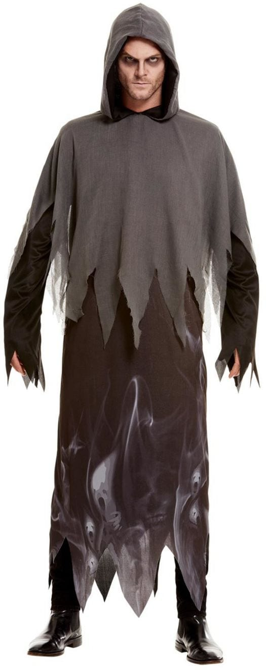 Ghost Ghoul Men's Halloween Fancy Dress Costume
