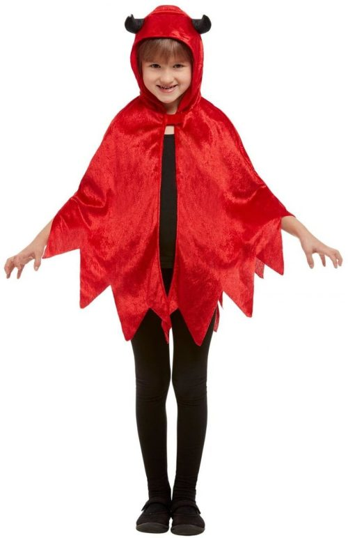 Red Devil Hooded Cape