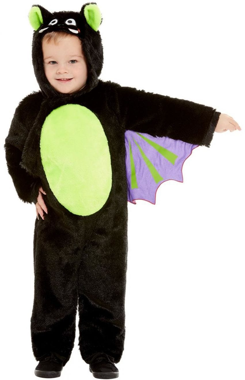 Toddler Bat Children's Halloween Fancy Dress Costume