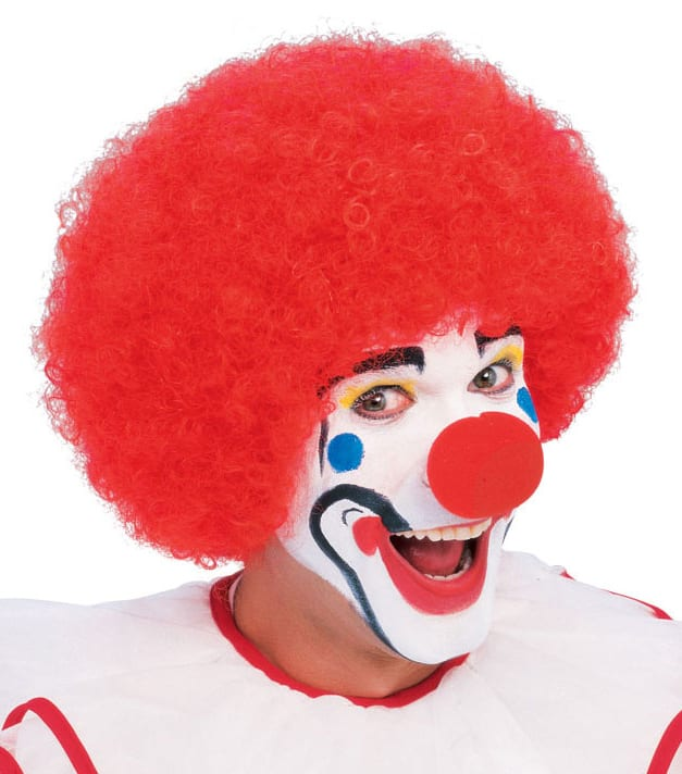 Red Curly Afro Wig