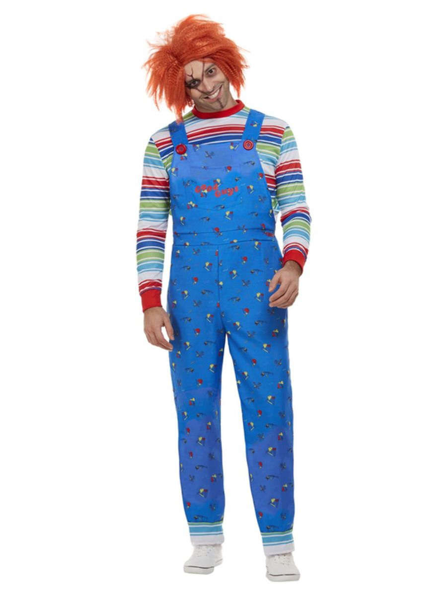 'Child's Play 2 & 3' Chucky Deluxe Men's Fancy Dress Costume
