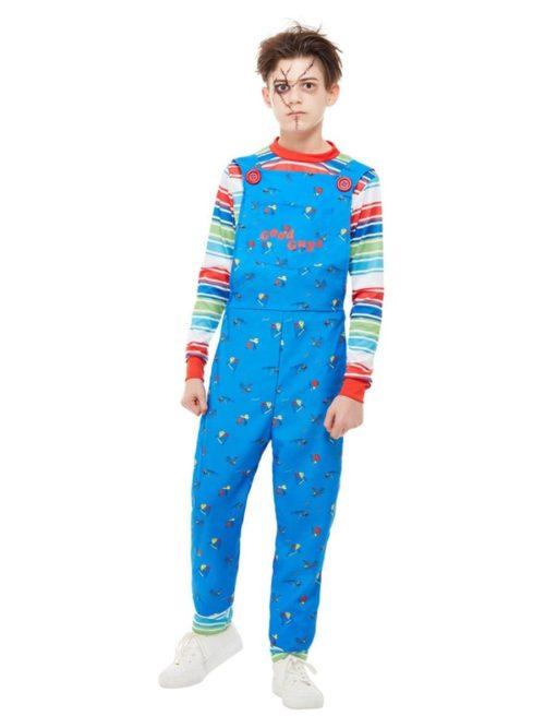 'Child's Play 2 & 3' Chucky Boy Children's Fancy Dress Costume