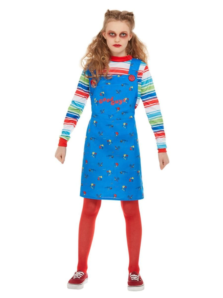 'Child's Play 2 & 3' Chucky Girl Children's Fancy Dress Costume