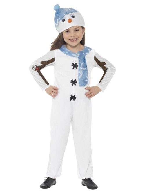 Snowman Toddler Children's Christmas Fancy Dress Costume