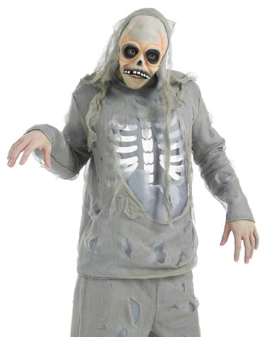 Zombie Skeleton Men's Halloween Fancy Dress Costume