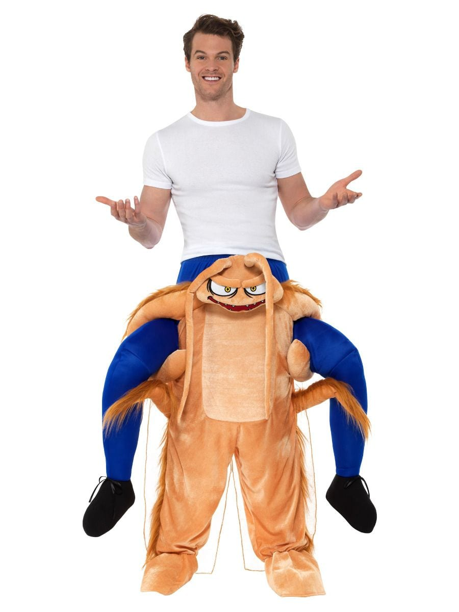 Piggyback Cockroach Unisex Novelty Fancy Dress Costume