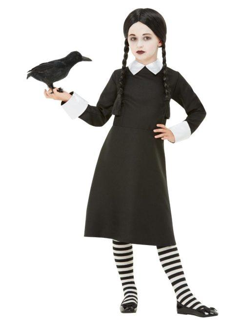 Gothic School Girl Children's Halloween Fancy Costume