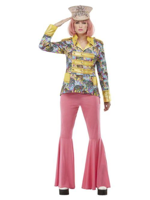 Carnival Jacket (Beatles) Ladies Fancy Dress Costume