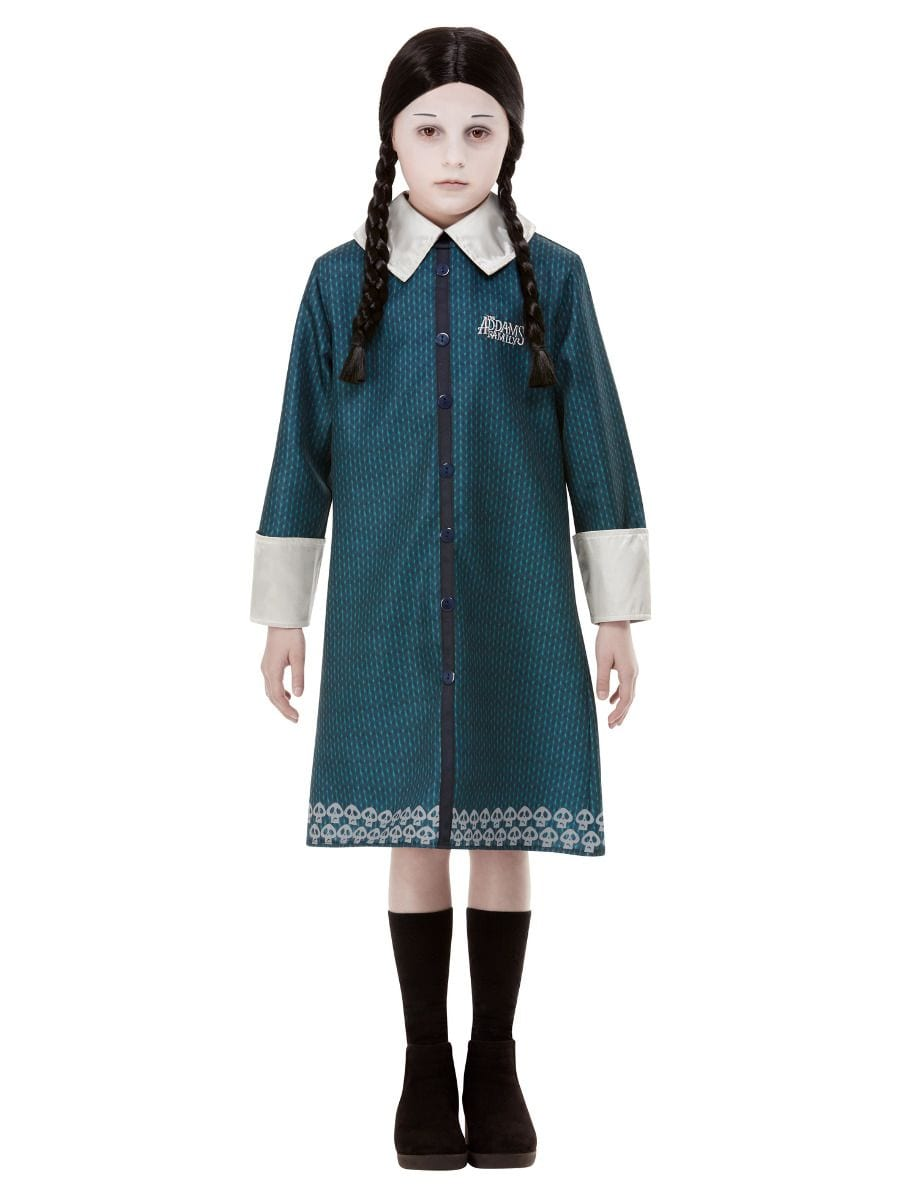Addams Family Wednesday Children's Halloween Fancy Dress Costume