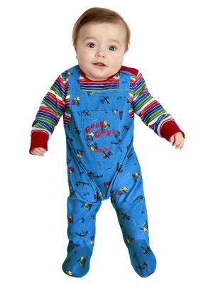 """Child's Play 2 & 3"" Chucky Baby Fancy Dress Costume"