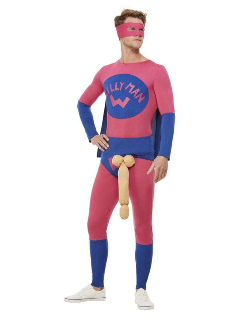 Willyman Superhero Men's Fancy Dress Costume