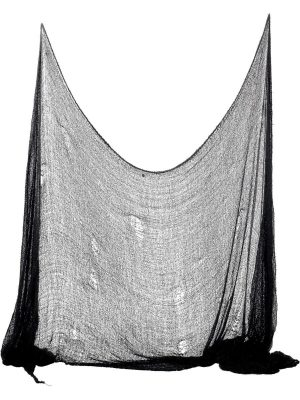 Creepy Cloth, Black, 75cm x 300cm
