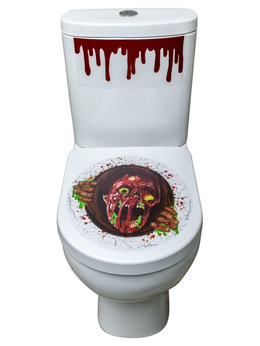 Zombie Portal Toilet Seat Stickers