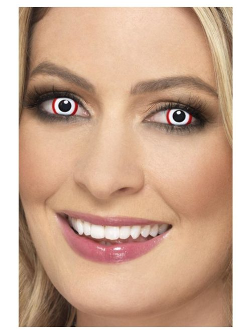 Accessoreyes Red Rim 1 Day Wear Contact Lenses