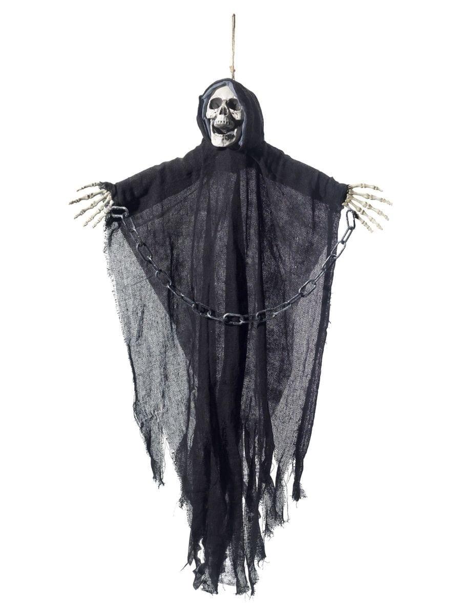 Hanging Reaper Skeleton Decoration